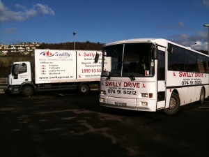 swilly group bus and lorry image
