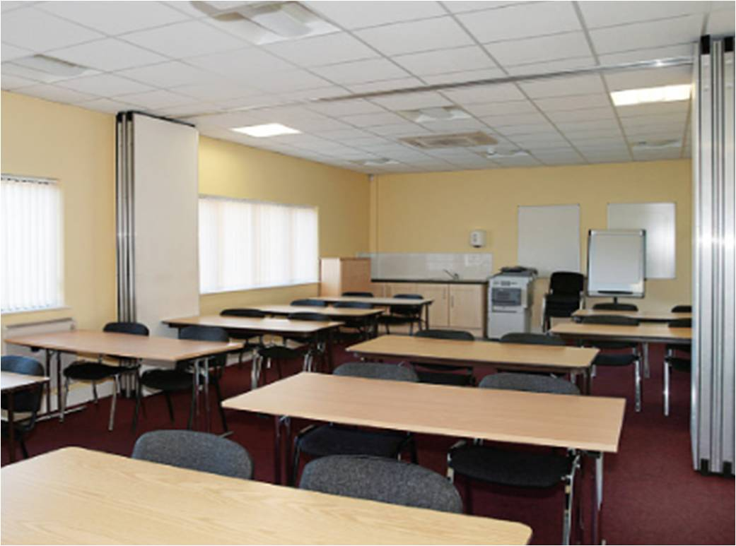 image of a training room at swilly group